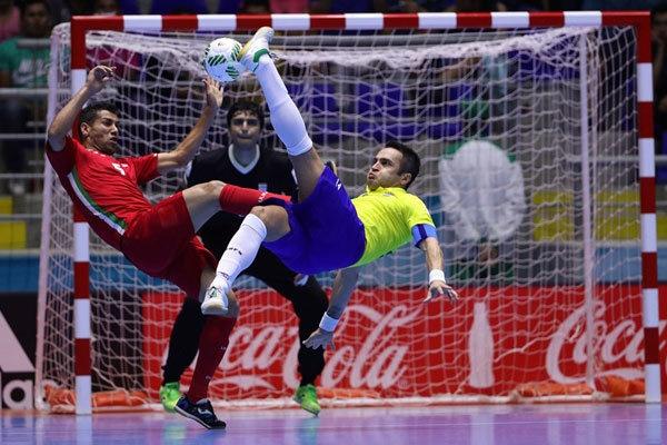 تصاویر | پیروزی تاریخی تیم ملی فوتسال ایران برابر برزیل