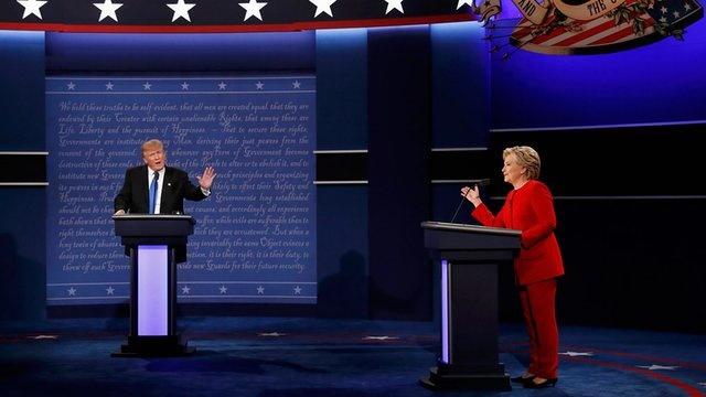 جزییات مناظره سایبری ترامپ و کلینتون را بخوانید