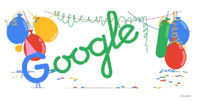 گوگل اینجوری به ایرانیها اجازه داد تا هجدهمین سال تولدش را جشن بگیرند / عکس