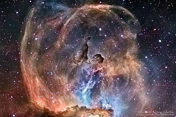 مجسمه آزادی در فضا /عکس روز ناسا