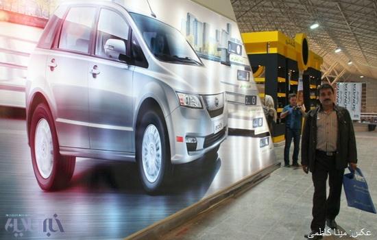 گزارش تصویری نمایشگاه بین المللی خودرو تبریز