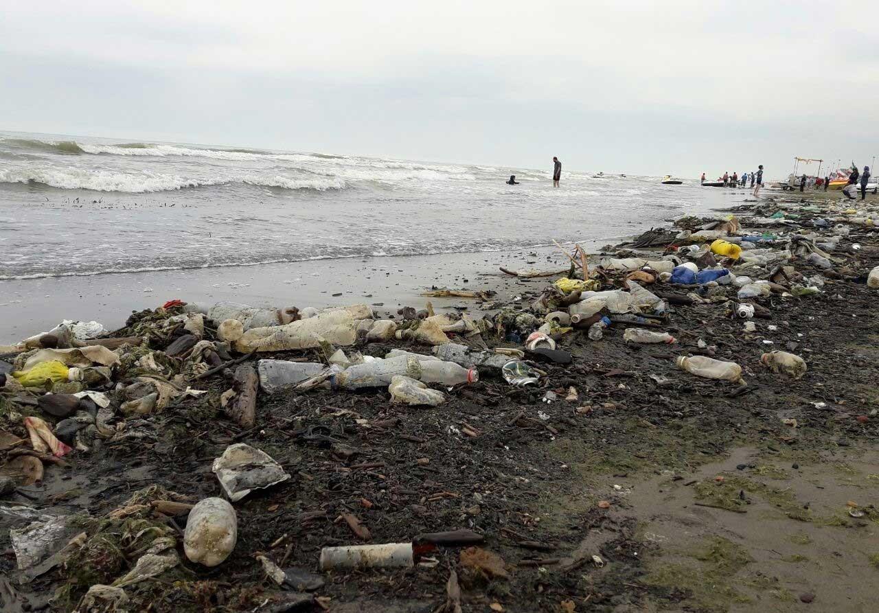خبرآنلاین - تصاویری دردناک ؛ اینجا ساحل خزر است