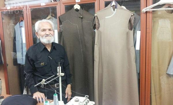 تصاویر   خیاط مشهور لباس روحانیت درگذشت   عربپور لباس کدام سیاسیون را دوخت؟