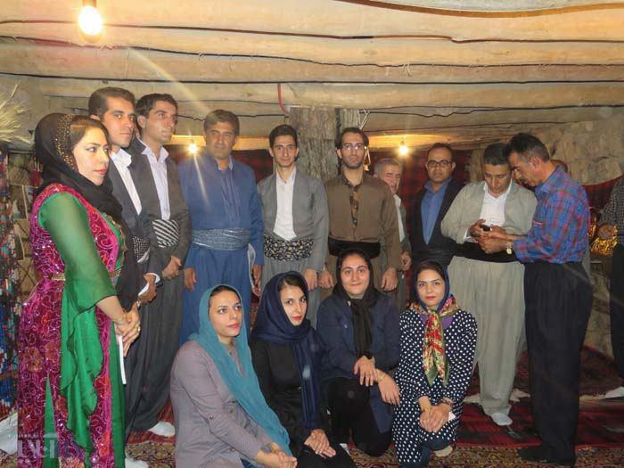 افتتاح خانه گردشگری روستای خانقاه در هفته تعاون توسط شهاب نادری نماینده اورامانات
