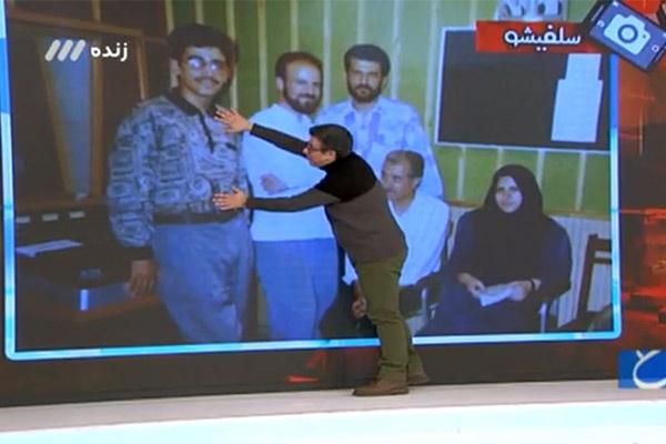 فیلم | رشیدپور از دو تصویر قدیمیاش رونمایی کرد| تیشرت بامشاد داخل شلوار!