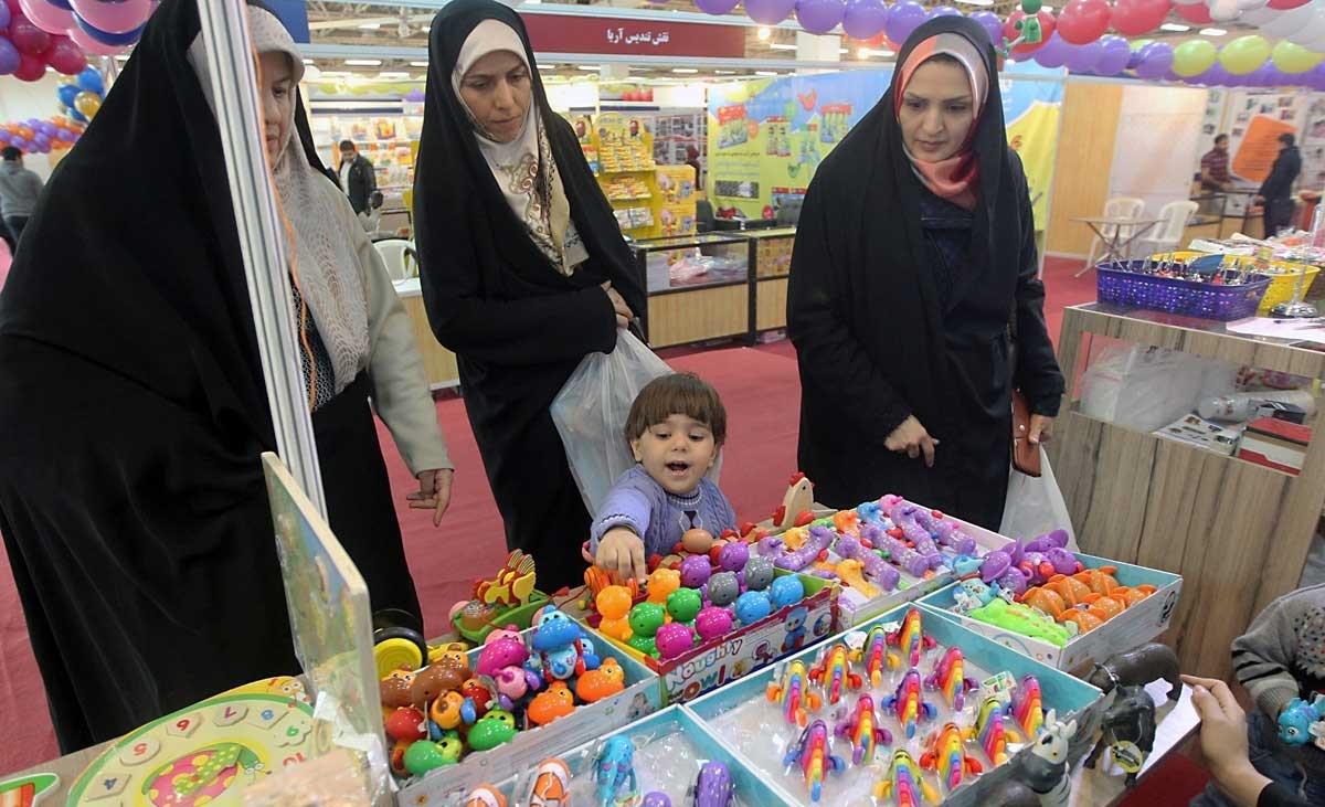 تصاویر   نمایشگاه بازی و اسباببازی ایرانی اسلامی