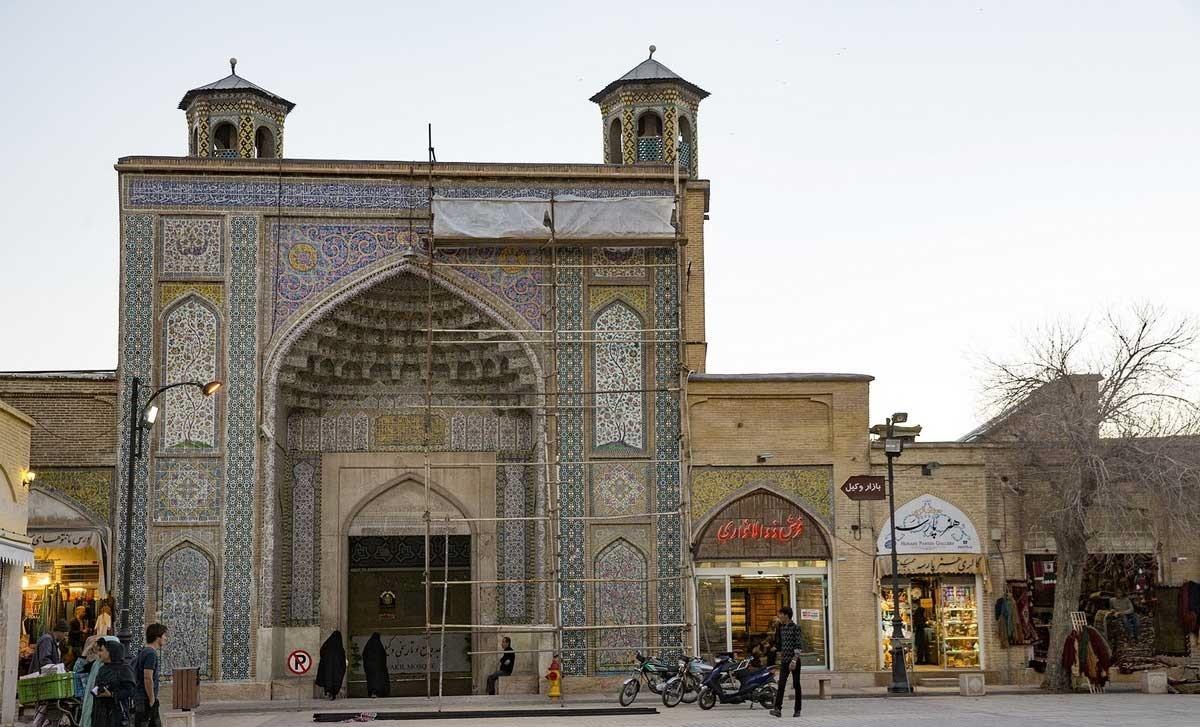 تصاویر | بازسازی مسجد وکیل