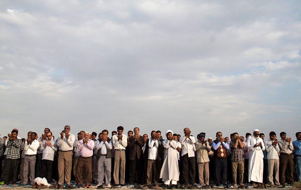 تصاویر | اقامه نماز طلب باران در میناب