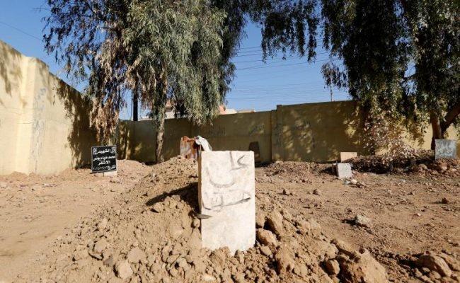 فیلم | موصل ؛ اینجا قبرستان شده است | دفن مردگان در هر نقطه از شهر
