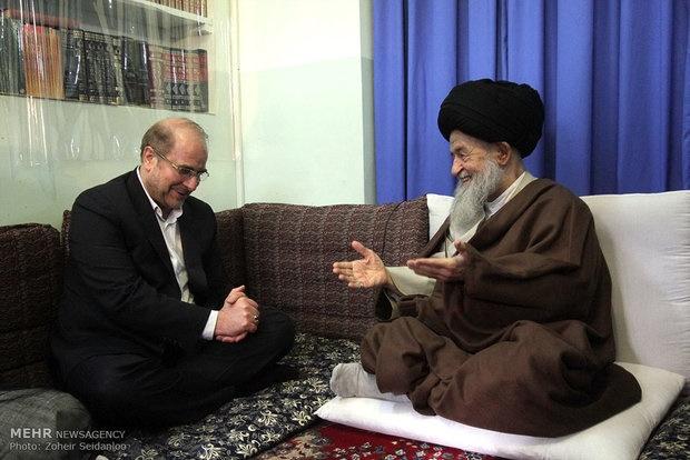 شهردار تهران امروز برای دیدار با مراجع تقلید به قم سفر کرد