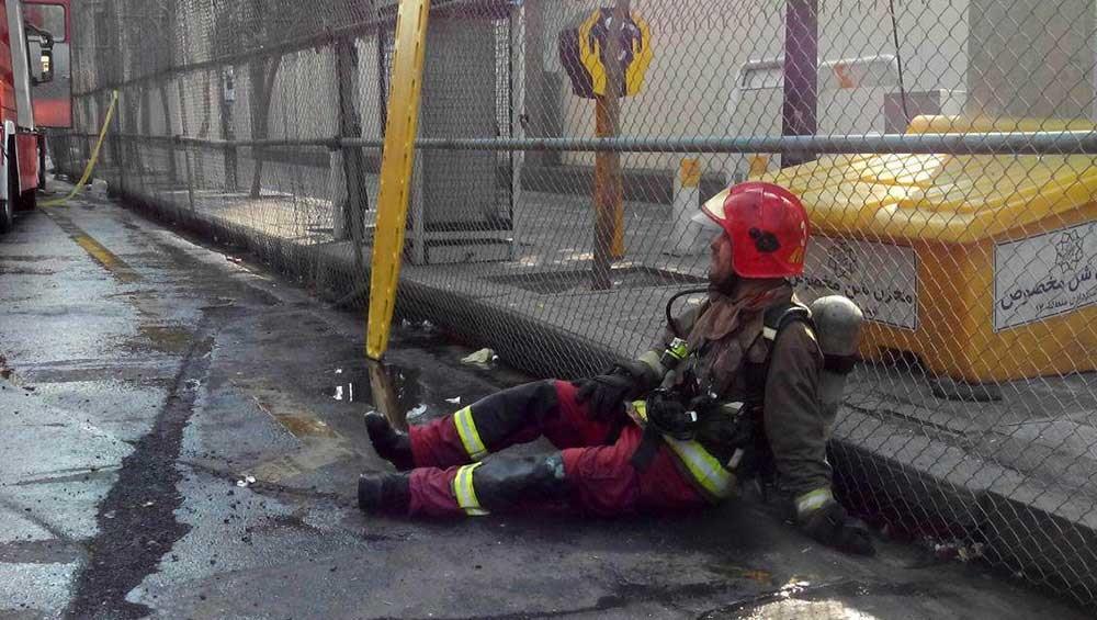 تصاویر | لحظه فروریختن ساختمان پلاسکو | سرنوشت دردناک پلاسکو