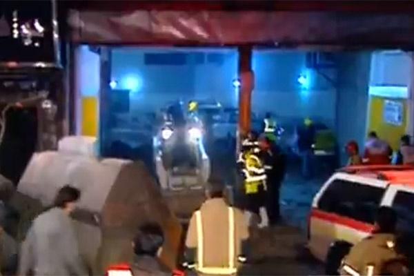 فیلم | آخرین اخبار از امداد و نجات در ساختمان پلاسکو