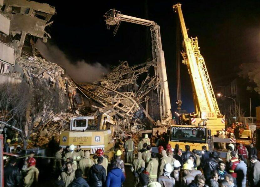 سخنگوی ستاد بحران حادثه پلاسکو: تسلیت قالیباف برای شهادت احتمالی ۲۰ آتشنشان بود