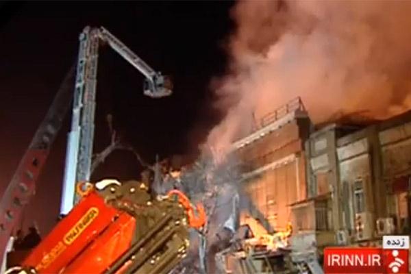 فیلم | پیام رهبر انقلاب در پی حادثه ساختمان پلاسکو