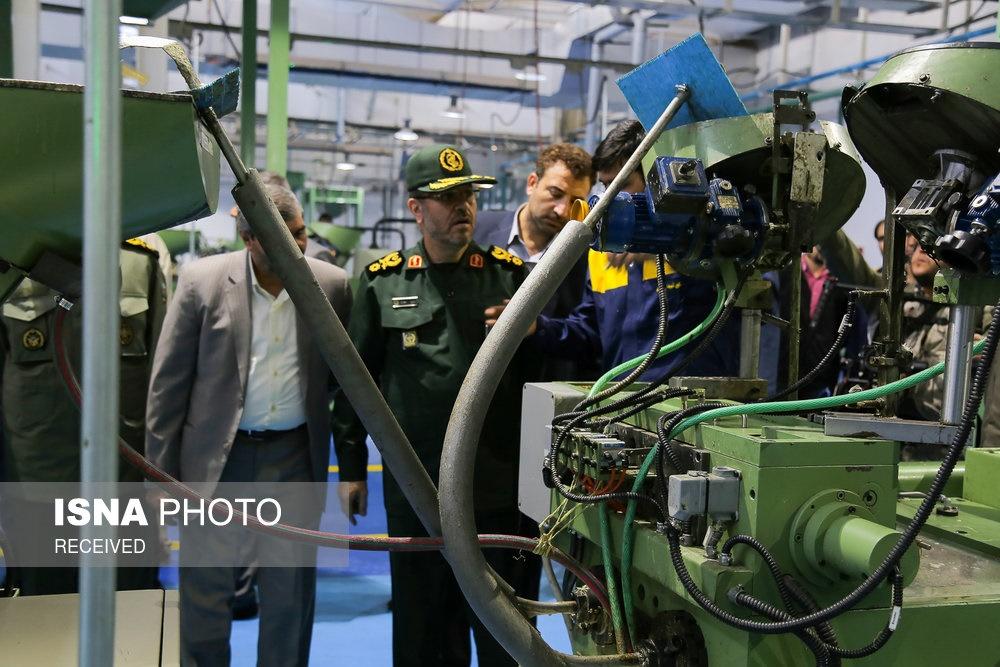 تصاویر   افتتاح خط تولید مهمات کالیبر کوچک با حضور وزیر دفاع