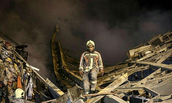 همه تجهیزات جهانی که آتشنشانهای پلاسکو نداشتند!