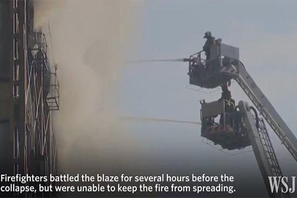 فیلم   روایت تصویری والاستریت ژورنال از فاجعه پلاسکو
