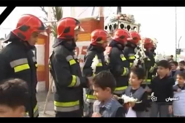 فیلم | ایران در سوگ آتشنشانان پلاسکو | نظرات مردم و آتشنشانان را ببینید