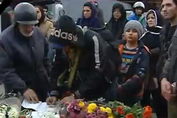فیلم | صحنههایی دردناک از حادثه تلخ پلاسکو  | درخواست آتشنشانان از مردم