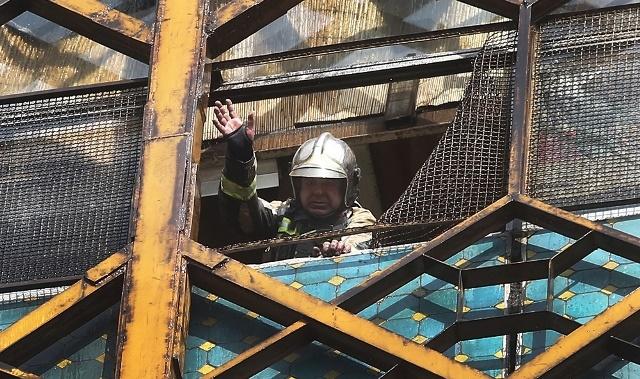تصاویر | آخرین تصاویر ثبت شده از فرمانده شهید آتشنشان علی امینی