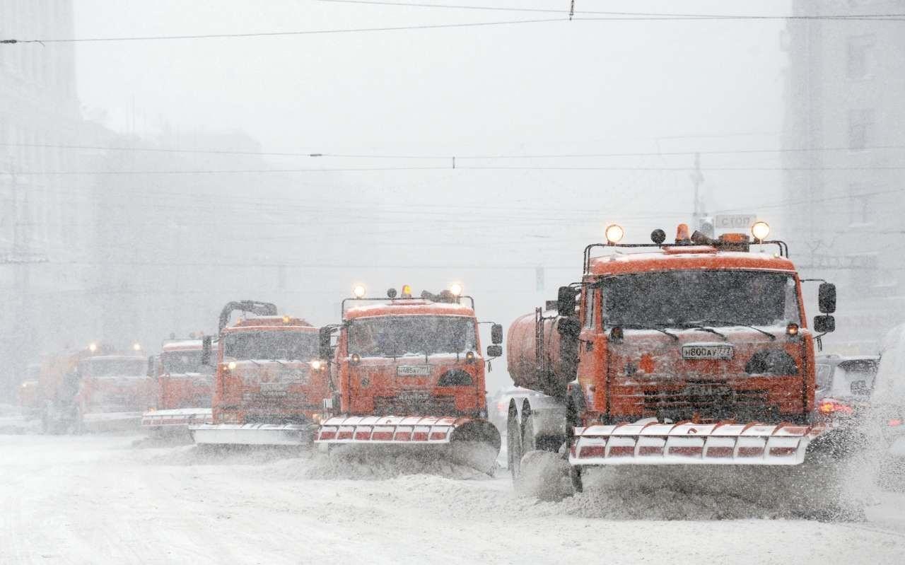تصاویر   سرمای ۳۵ درجه زیر صفر در مسکو