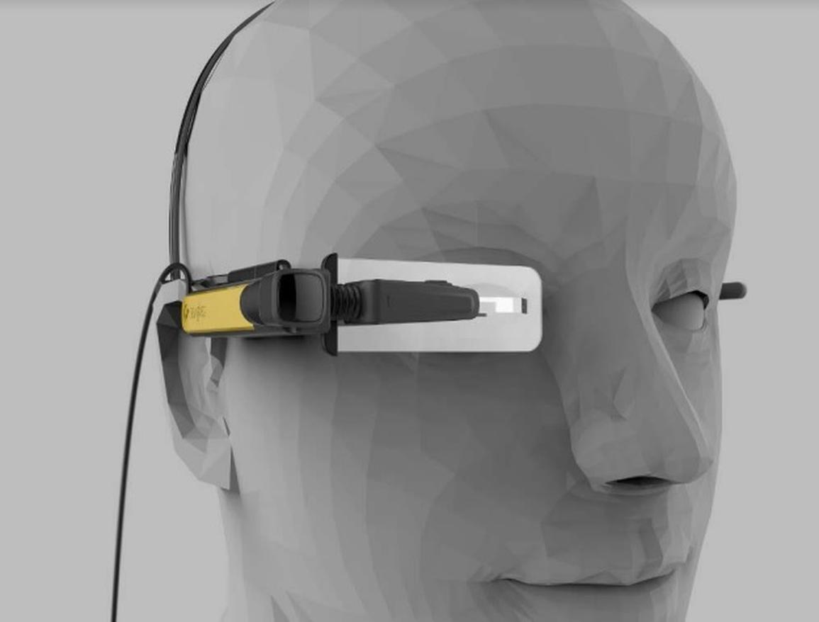 رونمایی از عینک هوشمند لنوو مجهز به واقعیت افزوده در نمایشگاه لاس وگاس/ عکس