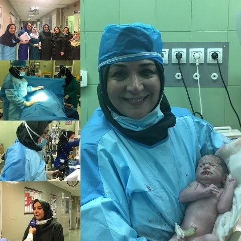 نخستین نوزاد به روش پی.آر.پی در بیمارستان فاطمیه همدان متولد شد
