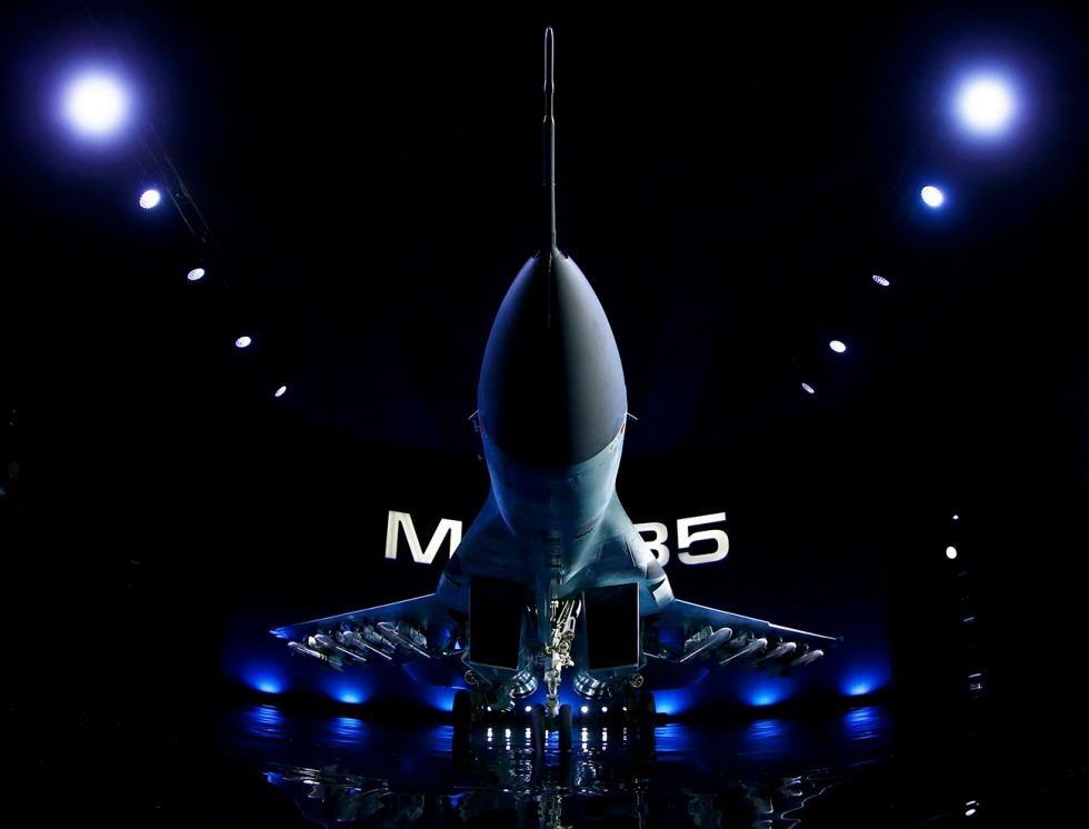 روسیه میگ-۳۵ جدید را رونمایی کرد/ تقابل با آمریکا در آسمان