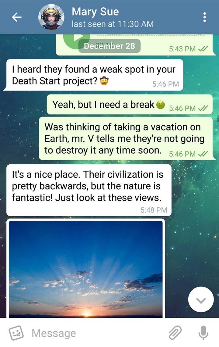 شکلک تلگرام ایفون