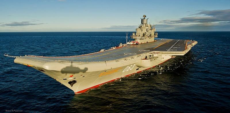 مشخصات فنی ناو هواپیمابر روسیه که از سوریه خارج میشود