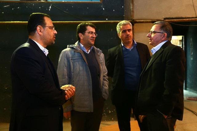 آخرین وضعیت بازسازی سینما بهمن تهران