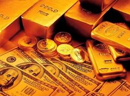 نزول قیمت طلا و دلار در بازار