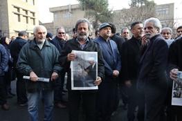 تصاویری از حضور سینماگران در مراسم تشییع آیتالله هاشمی