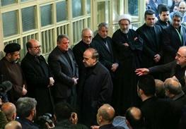 حضور ورزشیها در مراسم وداع با پیکر آیتالله هاشمی رفسنجانی