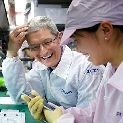 احداث کارخانه ۷ میلیارد دلاری شارپ در آمریکا برای ساخت نمایشگرهای اپل