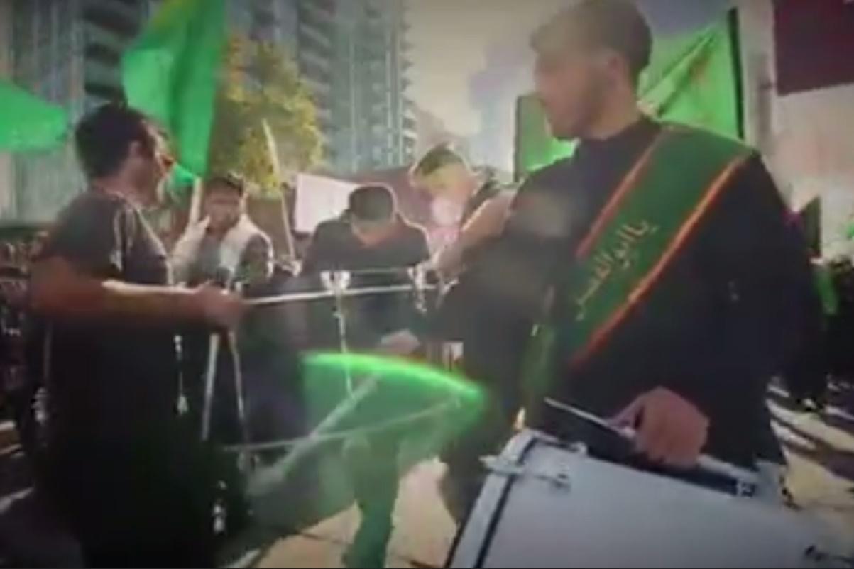 فیلم | دسته سینهزنی در شهر تورنتوی کانادا