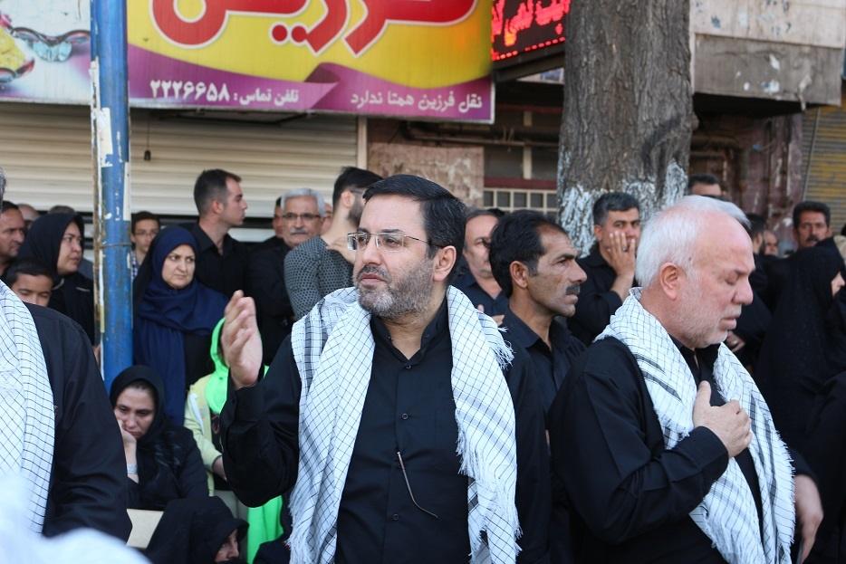 حضور سفیر ایران در آذربایجان در مراسم عزاداری عاشورای حسینی