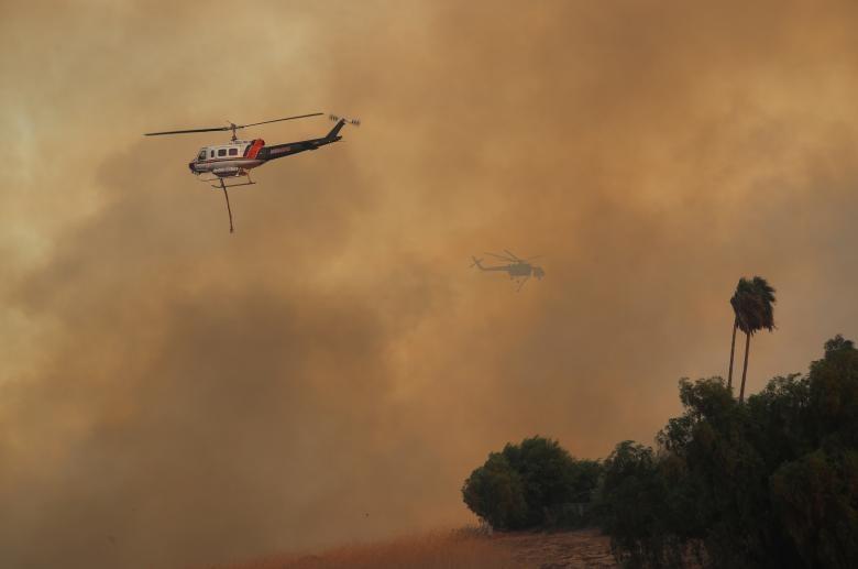 تصاویر | آتشسوزی کالیفرنیا با ۱۰ کشته و هزاران آواره