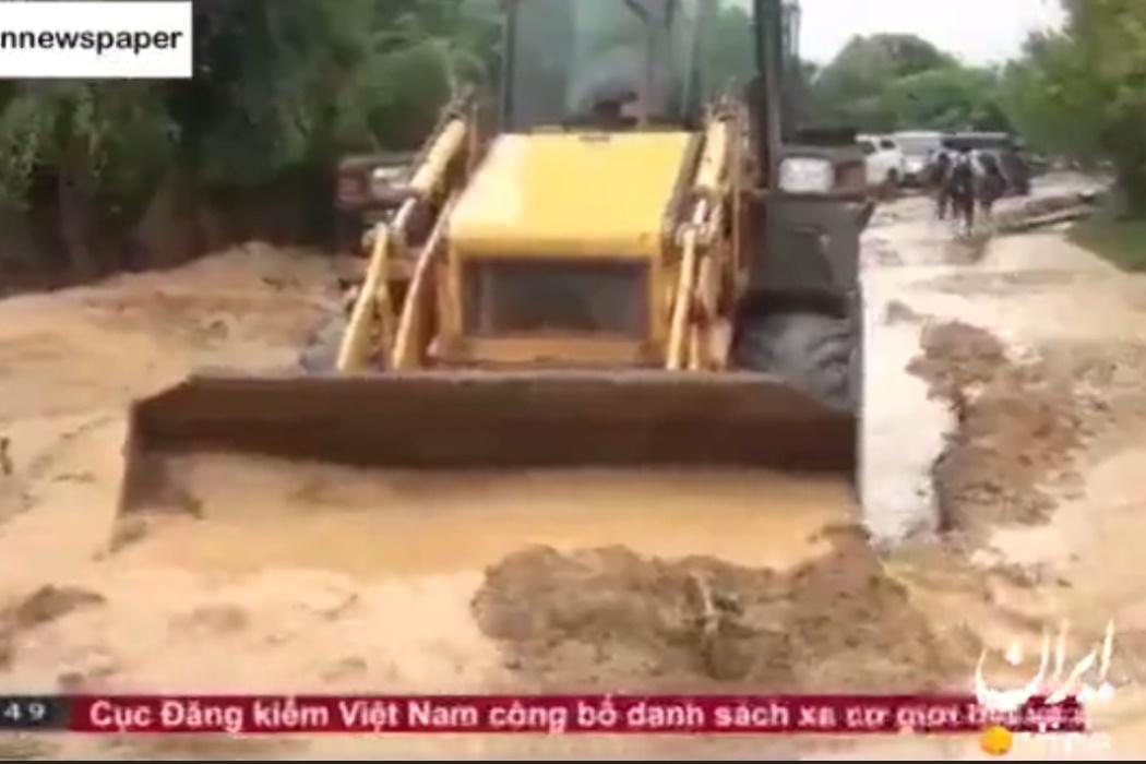 فیلم | رانش زمین در ویتنام با مرگ بیش از ۵۰ نفر