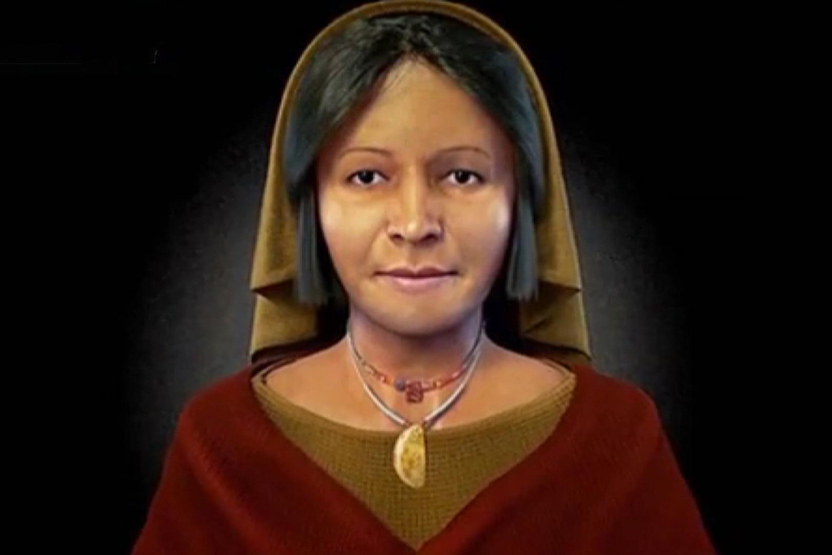 فیلم | بازسازی دیجیتال چهره یک زن متعلق به تمدن باستانی