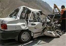 در برخورد وانت پیکان با پراید ۶ نفر کشته و مجروح شدند