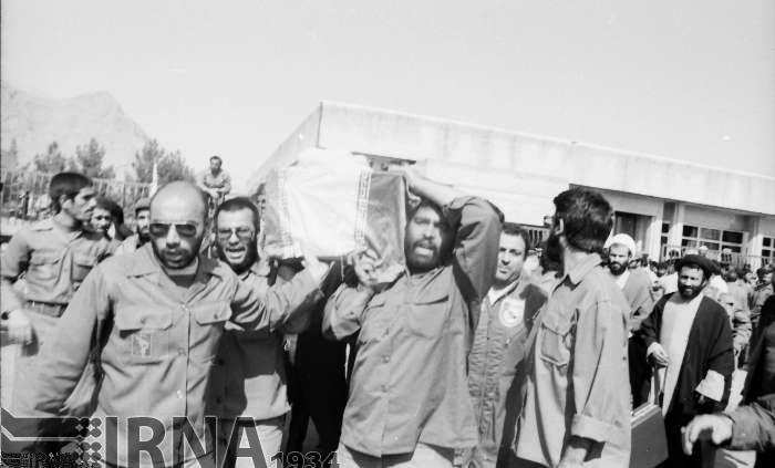 تصاویر | تشییع پیکر چهارمین شهید محراب
