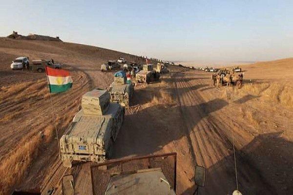 فیلم   درگیری حزب دموکرات عراق با پیشمرگههای کرد در کرکوک