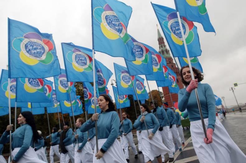 تصاویر | آغاز جشنواره جهانی جوانان و دانشجویان با حضور پوتین