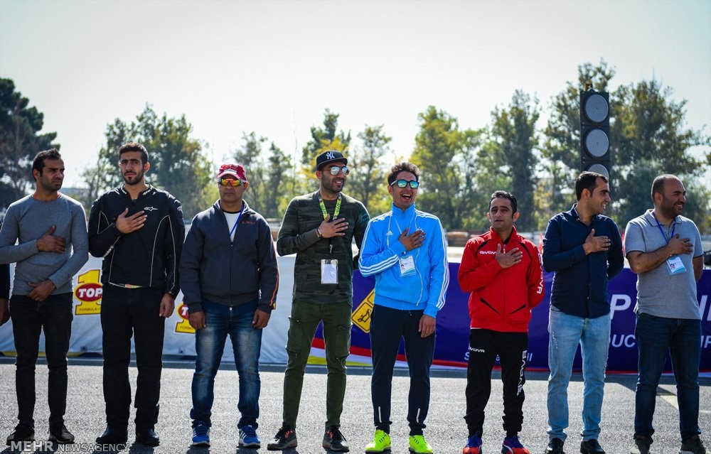 تصاویر | هیجان در مسابقات موتورسواری قهرمانی سرعت کشور