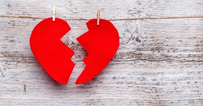 شکستن قلب واقعا به قلب صدمه می زند