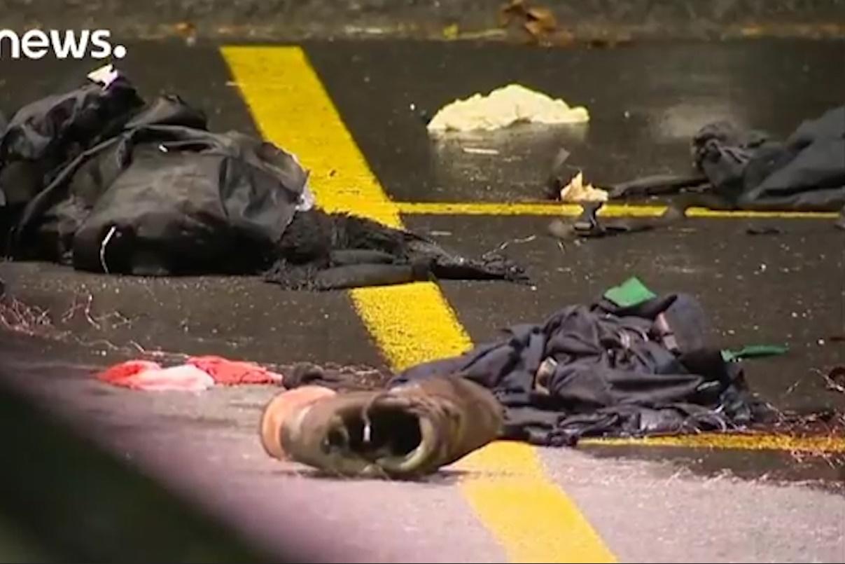 فیلم | حمله نوجوان ۱۷ ساله به مردم سوئیس با تبر