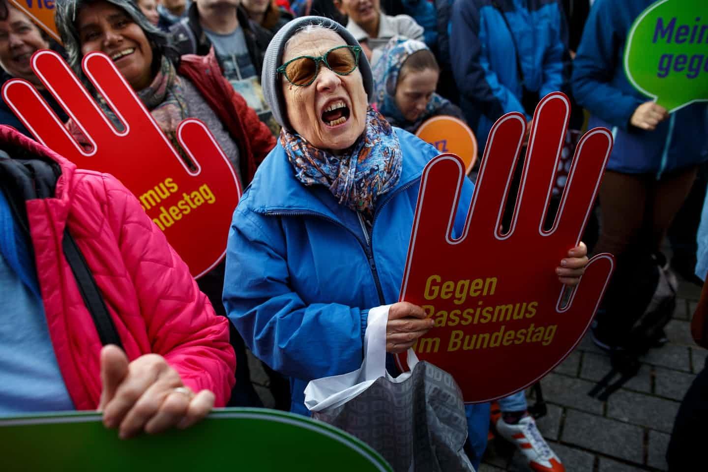 تصاویر | تظاهرات آلمانیها علیه نفرت و نژادپرستی در برلین