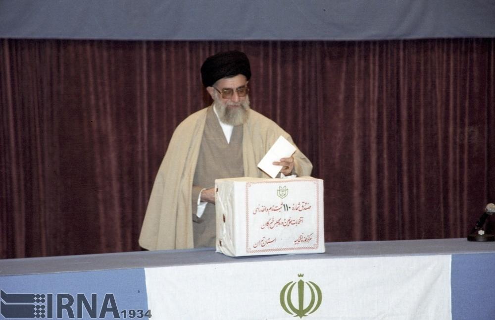 تصاویر | یکم آبان ۱۳۷۷؛ سومین دوره انتخابات مجلس خبرگان رهبری