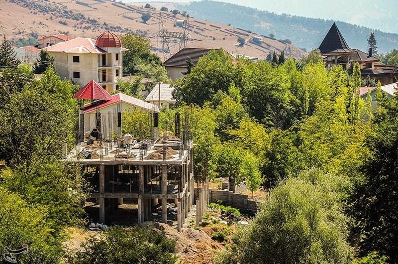 تصاویر   ساختوساز بیرویه در کلاردشت در پی افزایش بیسابقه قیمت ملک